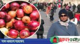চীন থেকে ১১ কেজি পেঁয়াজ এনে মা-বাবাকে উপহার দিলেন মেয়ে