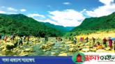 আধুনিক সাজে সাজানো হচ্ছে পর্যটনস্পট বিছনাকান্দিকে