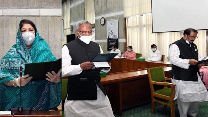 শপথ নিলেন নবনির্বাচিত দুই সংসদ সদস্য