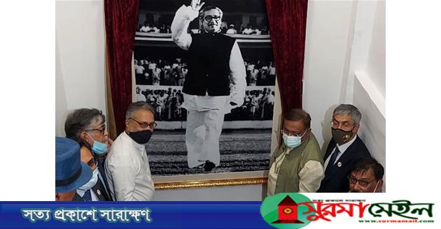 প্রেস ক্লাব অব ইন্ডিয়ায় 'বঙ্গবন্ধু মিডিয়া সেন্টার' উদ্বোধন